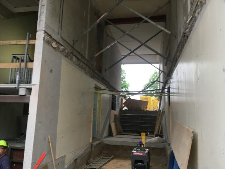 nedbrydning betondæk