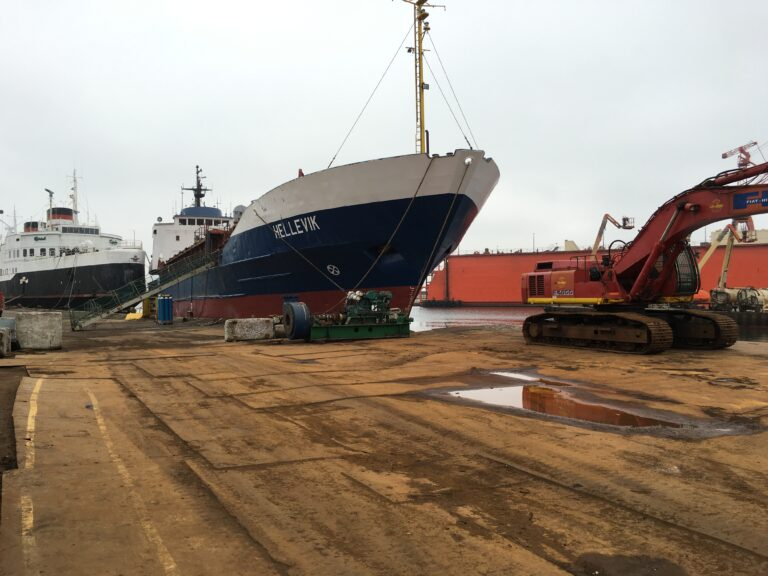 ophugning skibe