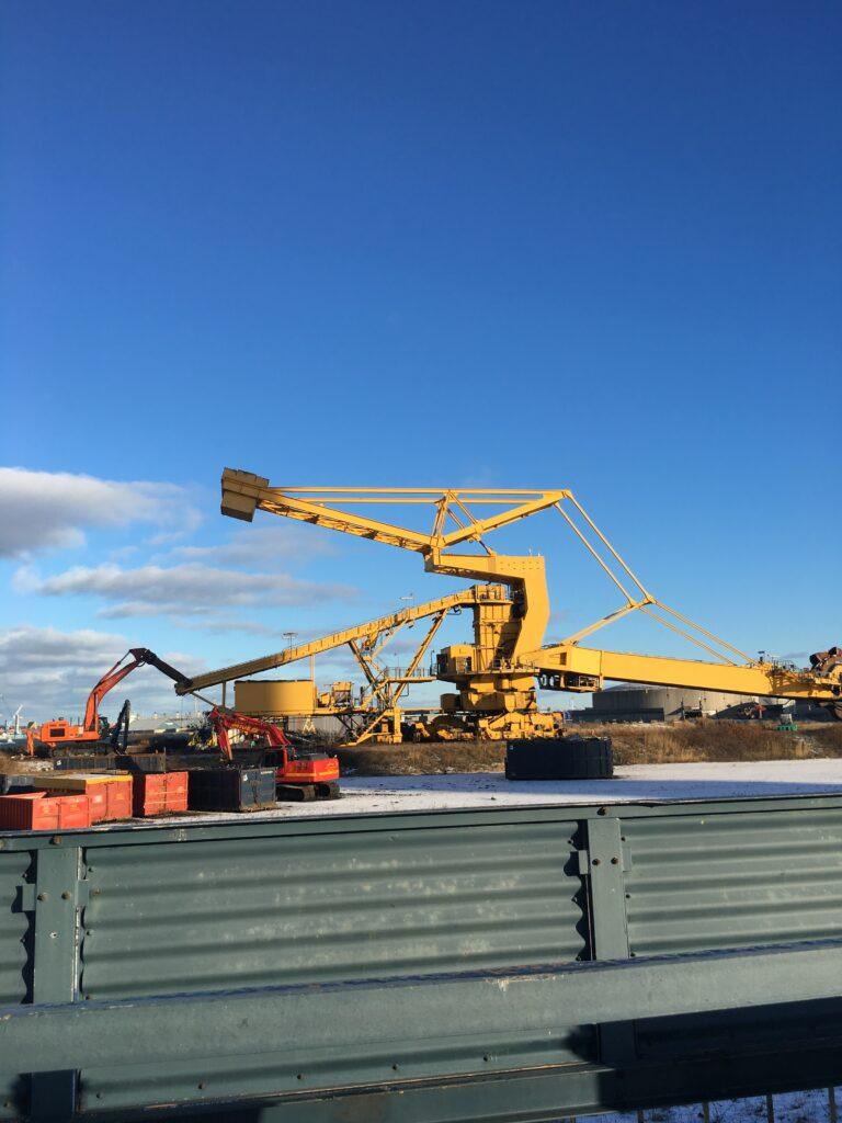 skrotning 3000 tons jern